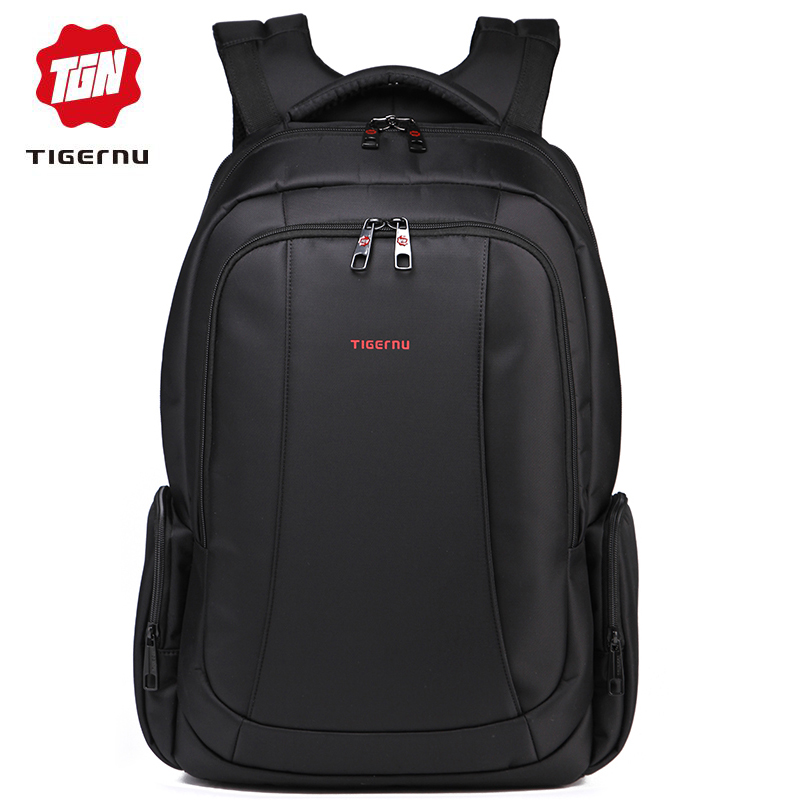 Tigernu Waterproof Nylon Backpack Female Men's Backpacks for 15.6″ Laptop Women Notebook Bag Mochila Leisure school backpack USB