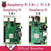 Оригинальный Raspberry Pi 3 Model B + Raspberry Pi Raspberry Pi3 B Plus Pi 3 Pi 3B с Wi-Fi и Bluetooth(China)