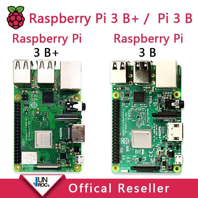 Original Raspberry Pi 3 Modelo B, Modelo B +, Raspberry Pi Raspberry Pi3 B Plus Pi 3 Pi 3B con WiFi y Bluetooth