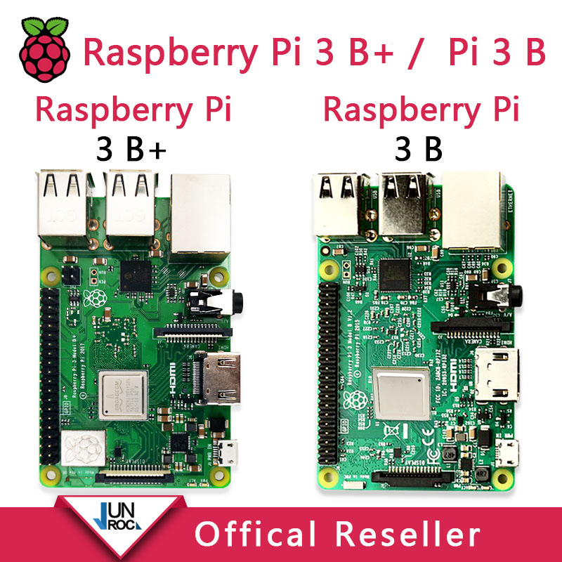 Original <font><b>Raspberry</b></font> Pi 3 Model <font><b>B</b></font> + <font><b>Raspberry</b></font> Pi <font><b>Raspberry</b></font> <font><b>Pi3</b></font> <font><b>B</b></font> Plus Pi 3 Pi 3B With WiFi & Bluetooth image