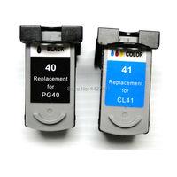 1 set CL41 PG40 PG-40 Cl-41 דיו PG 40 CL 41 עבור Canon PIXMA iP1200 IP2500 IP2600 MX300 MX310 MP160 MP140 MP150 MP460