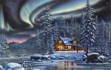 Kim Norlien fantasy sci fi artistic art landscapes nature winter seasons holidays 4 Sizes wall picture Canvas Poster Print