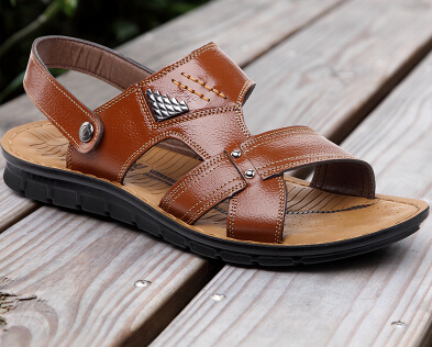 4a73d5f552673 2015 Best selling Classic Design Men Sandals Hemp+ Genuine Leather Beach  sandals shoes male sandals men s summer sandals-in Men s Sandals from Shoes  on ...