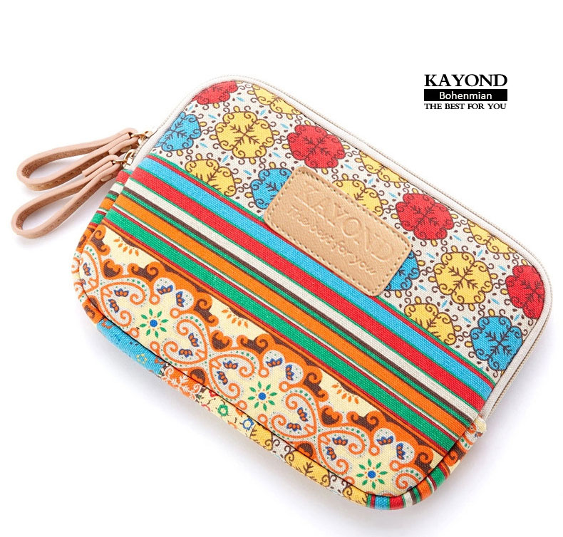 Canvas bohemian design Tablet PC Bag Laptop Case Sleeve Soft Bag Cover  for case for ipad mini 1 2 protective Pouch for 7.9 inch