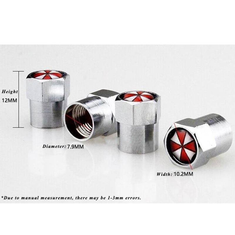 4 Chrome Wheel Valve Tyre Dust Caps /& 20mm Stem Covers
