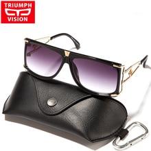 TRIUMPH VISION 2017 Gradien Lens Female Sunglasses Unisex Square Designer Lunette Eyewear New Luxury Brand Sun Glasses For Women