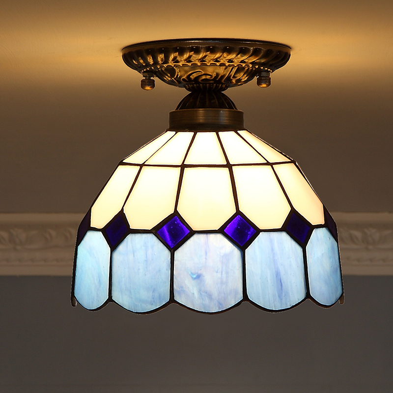 Yi Xuan European style bedroom lighting in the Mediterranean lighting and light lamps