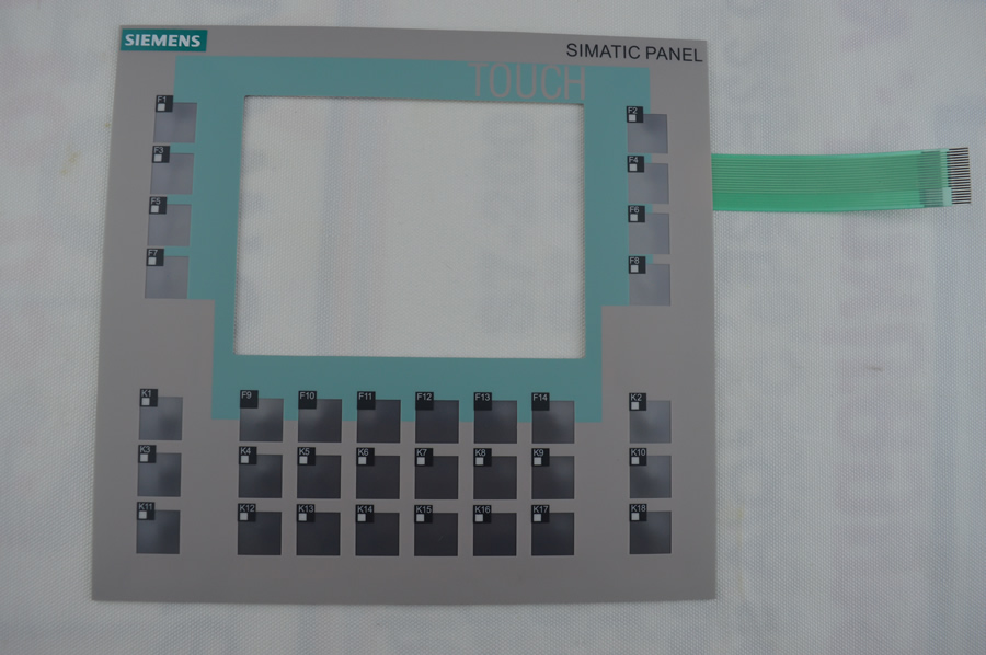 Membrane keyboard for 6AV6642-0DC01-1AX1 for SlEMENS OP177B HMI KEYPAD, Membrane switch , simatic HMI keypad , IN STOCK membrane keypad for 6av6652 7ca01 3aa0 ktp600