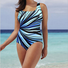JHT women one piece sport plus size swimsuit halter  swimwear rainbow print bathing suit body Leopard