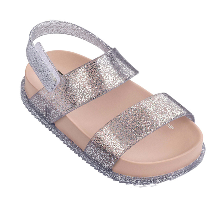 Childrens Roman Sandals Boys Shoes 2018 New Girls Jelly Shoes Summer Breathable Crystal Baby Beach Shoes