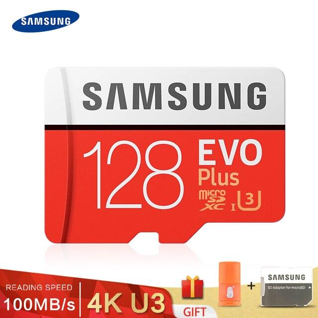 Thẻ Nhớ SAMSUNG EVO 32G 95 MB/giây SDHC MicroSD 64 GB 128 GB 256 GB 4 K 100 MB/giây SDXC Class 10 C10 UHS TF Thẻ