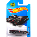 out of print Batmobile Elite Hot Wheels OEM 1:43 TM DE Comics (s12) movie version Batmobile