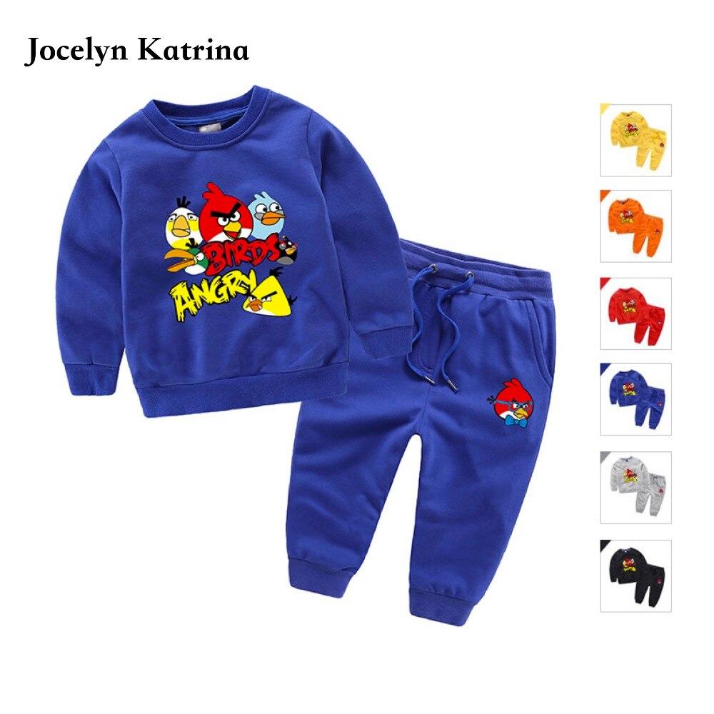 Jocelyn Katrina 3-10Y 2pcs/Sets Baby Girls Boys Clothes Outfit Long Sleeve Spring Autumn Kids Boys Tracksuits Tops+ Long Pants  линолеум бытовой 3 м престиж katrina 2