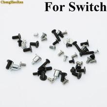 ChengHaoRan 1set Full set Cross head Screws For Nintendo NS NX Console Screw Set For NS Switch Repair part Phillips screwdriver 1 bag full set screw for nintendo switch ns nx console replacement screws set