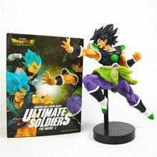 Anime Dragon Ball Z Movie DBZ ZERO Broli Broly Vegeta Super Saiyan Goku Vegetto Trunks PVC Action Figure Celloction Model Toys