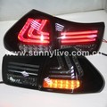 2004 to 2009 Year For Lexus RX300 RX330 RX350 Herrier Kluger LED Tail Lights  Smoke Black Lens SN