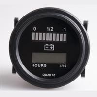 RL BI004 Frete grátis! 12 V 24 v 36 v 48 v 72 v Bateria Medidor de Medidor de Tensão Digital para Veículos elétricos Empilhadeira Caminhão Do Carro Do Clube|gauges 60mm|gauge airbattery powered personal fan -