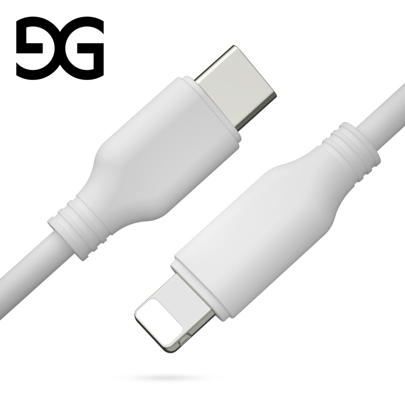 GUSGU PD Fast Charging Cable For iPhone X 8 7 6 Type C Fast Charger Cable For 5 5S SE Macbook iPad Data Cable For iPhone 6S Plus