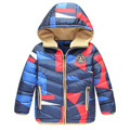 High Quality New Brand Fashion 2016 Winter Children Down Coat/Jackets For Kids Boy's Hooded Coats Child Clothings