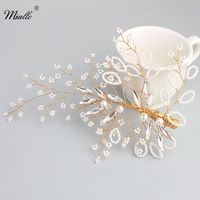 Miallo Little Pearl Bride Hair Pins The Ivory White Pearl Wedding Hair Accessories HS J4526