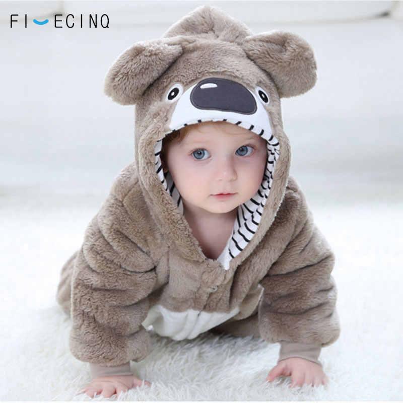 39e339da8 ... Cute Koala Kigurumi Baby Child Onesie Pajama Kawaii Animal Cosplay Costume  Infant Winter Warm Soft Suit ...