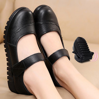 Shoes Flats Moccasins Slip On Loafers Genuine Leather Ballet Shoes Fashion Casual Ladies Shoes Footwear Soft