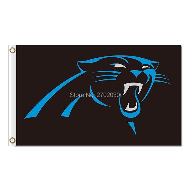 Carolina Panthers Logo Vlag Voetbal Team 90x150 Cm Banner Wereld