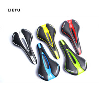 LIETU Bicycle Seat Saddle Soft Sports Road Mountain Bike Front Seat Mat Cushion Riding Cycling Supplies Bicycle Accessories