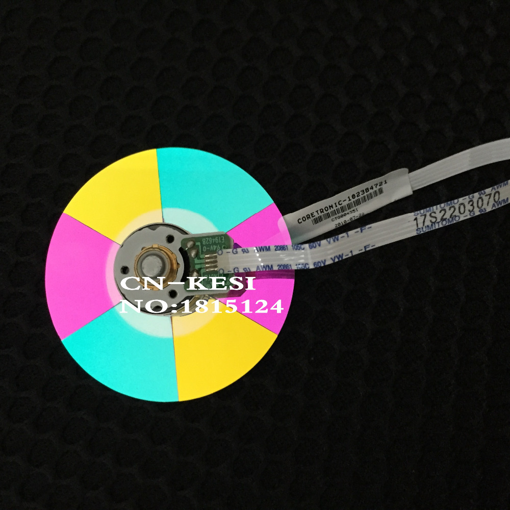 100% nouvelle roue de couleur de projecteur d'origine pour Infocus SP8602 couleur de la roue (58 MM) numéro de série 102384721