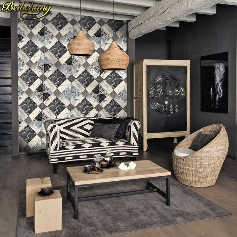 beibehang papel de parede 3D Marble stone Wall Paper roll Living Room Wallpaper For Walls papel contact KTV hotel TV background beibehang european luxury papel de parede 3d wall paper roll embossed flocking living room tv background wallpaper for walls 3 d