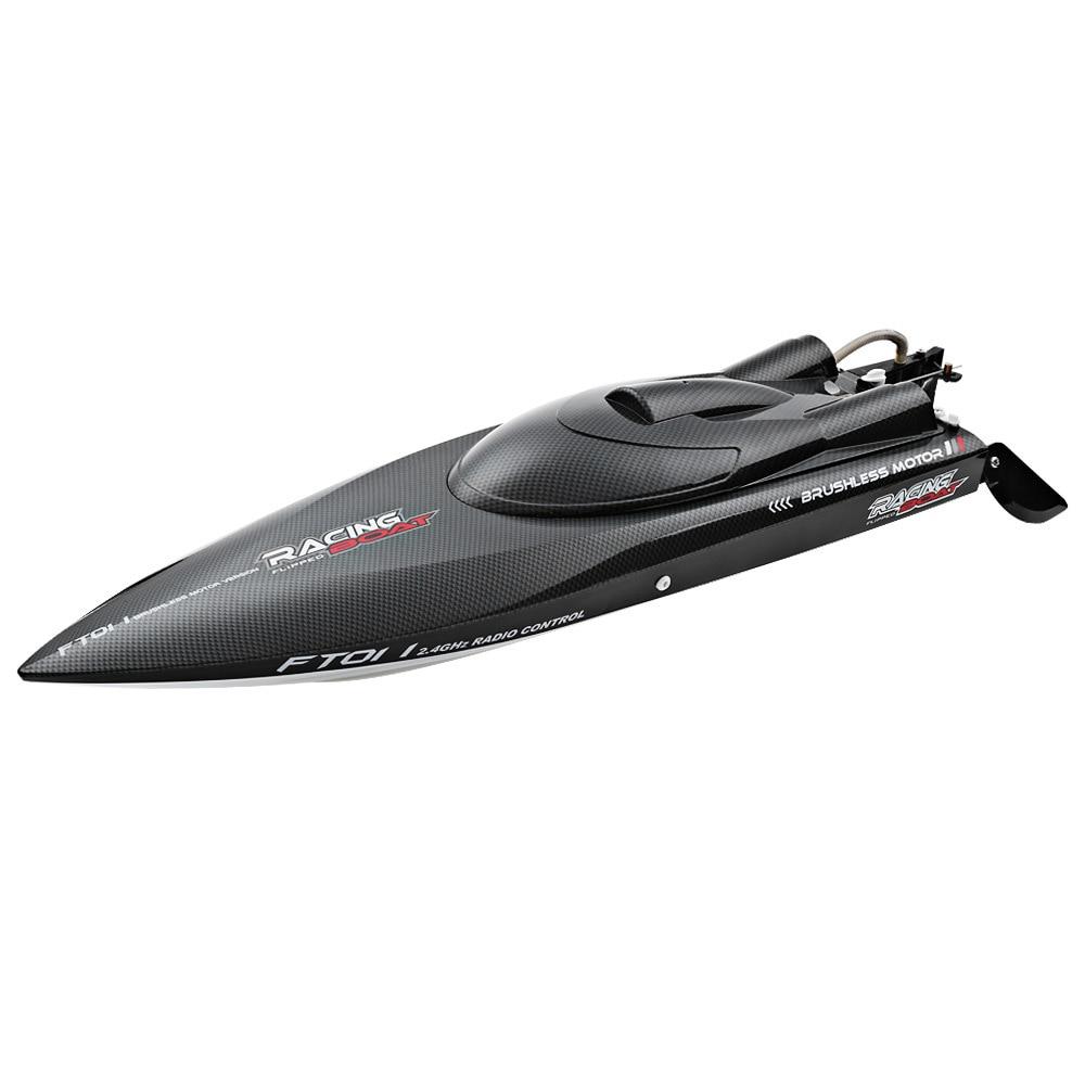 FeiLun FT011 RC bateau 2.4G haute vitesse moteur Brushless intégré système de refroidissement par eau télécommande course hors-bord RC jouets cadeau