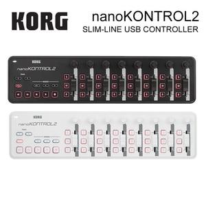 Image 4 - Korg nanoKEY2 nanoPAD2 nanoKONTROL2บาง Line USB MIDIแผ่น16 T Ripperแผ่นที่มีสายUSB