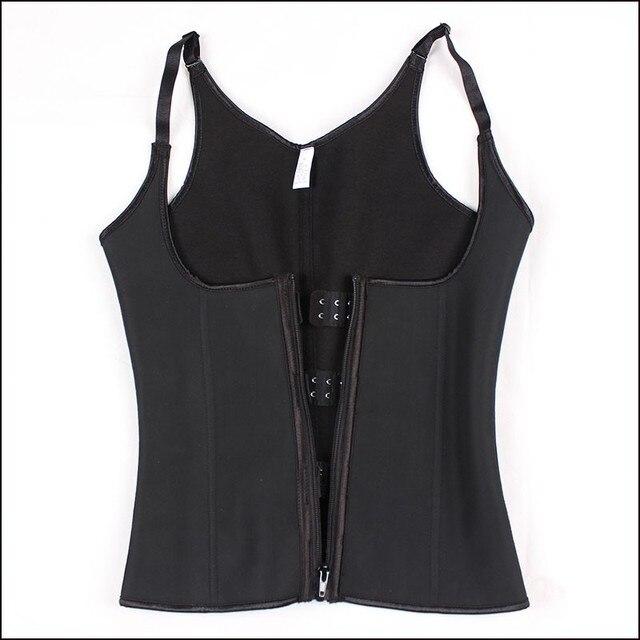 Почтовый И крючок латекс талии тренер + ремень корсеты и бюстье сексуальный черный грудью корсет для похудения корсет vest-5