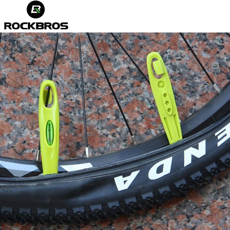 ROCKBROS Cycling Bike Bicycle Tire Tyre Ultralight Lever POM MTB Bike Wheel Repair Tire Tool Kit Set Bike Bicycle Accessories