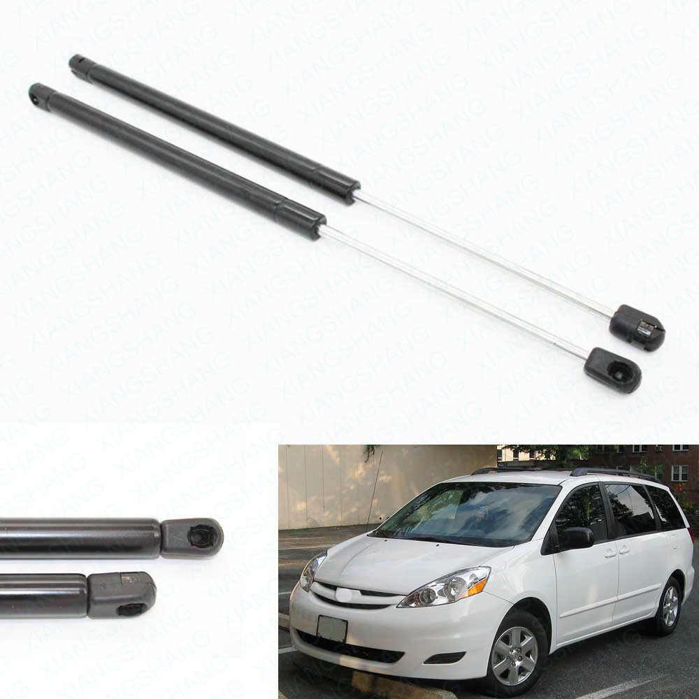 2pcs auto tailgate hatch boot lift supports shock gas struts for toyota sienna 2004 2005 2006