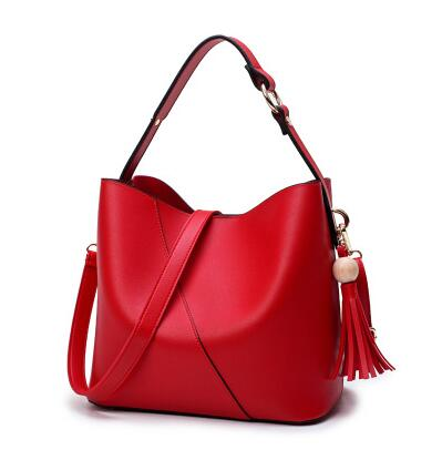 2018 Leather Women Hand bag Brand Summer Bucket Women Bag High Quality Ladies Tote Bag New Shoulder Bags Girl