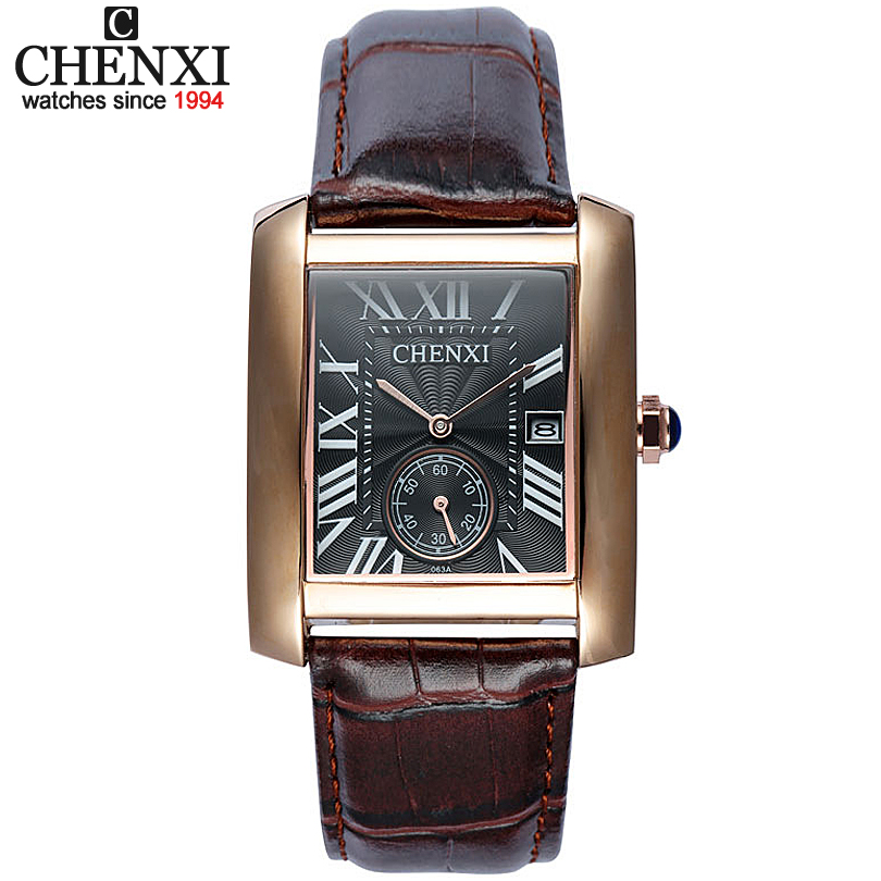 5 Colors Small Dial Can Work Fashion Classic Men s Quartz Watches Square Watch Retro Style