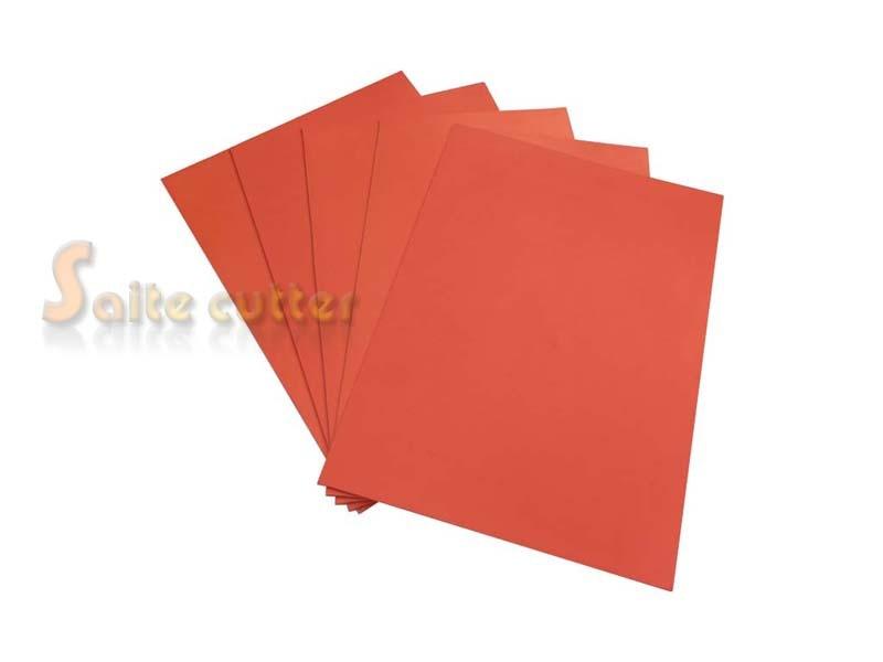 Laser Rubber Sheet Printing Engraver Engraving DIY Sealer Stamp A4 2.3mm Orange Colour