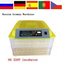 Хит продаж мини-небольшой цифровой 96 инкубатор для обоих куриных и Перепелиных яиц
