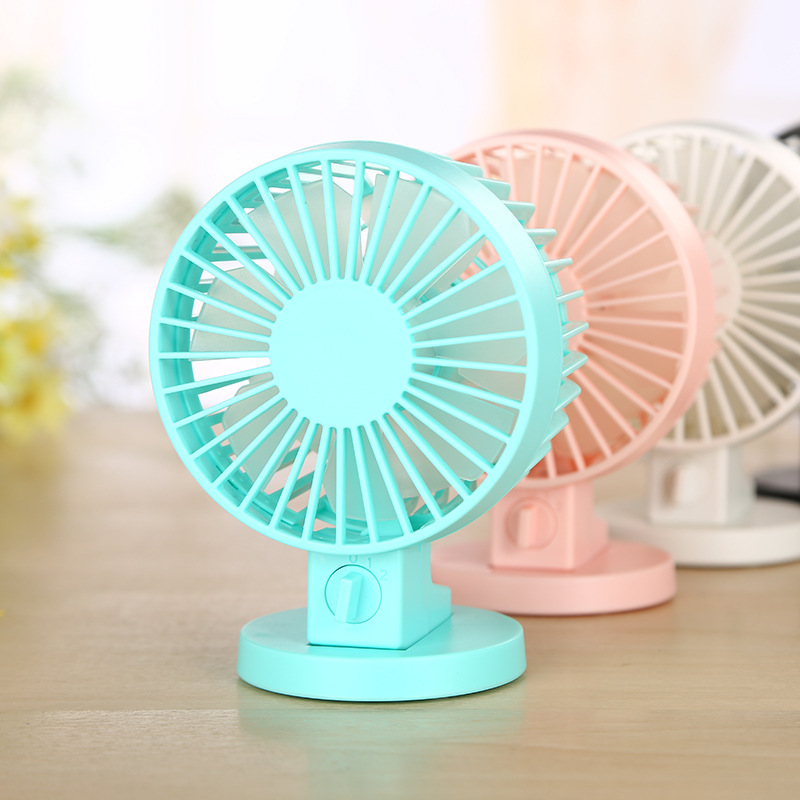 Portable ultra quiet Mini USB fan creative home desk outdoor ABS electric fan silent desktop fan fan blade xiaomi vh fan stylish double blade mute cycle desktop silent fan low noise touch sensor switch and second gear adjustable