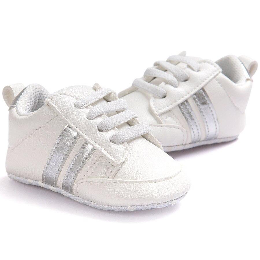 ROMIRUS Boys Baby Girls Miękkie podeszwie sneaker PU skórzane - Buty dziecięce - Zdjęcie 5