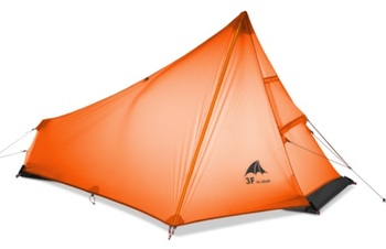 3F Ultra light 15D Coated Silicon  Water Proof Single Person Trekking Travel Cycling Mountaineering Outdoor Camping Tent