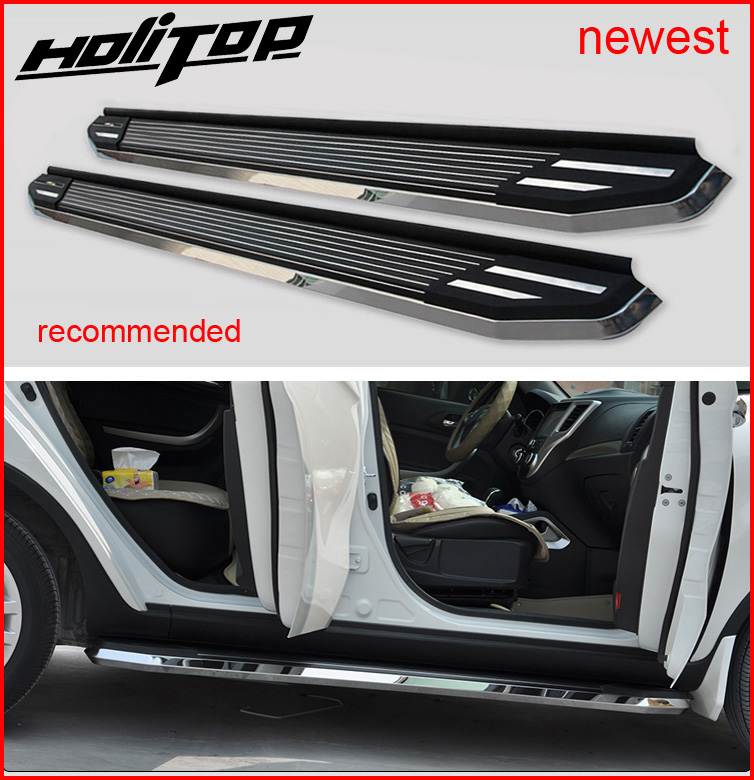 hottest side step bar running board feet step for Mazda CX 5 2013 2017 Luxurious model