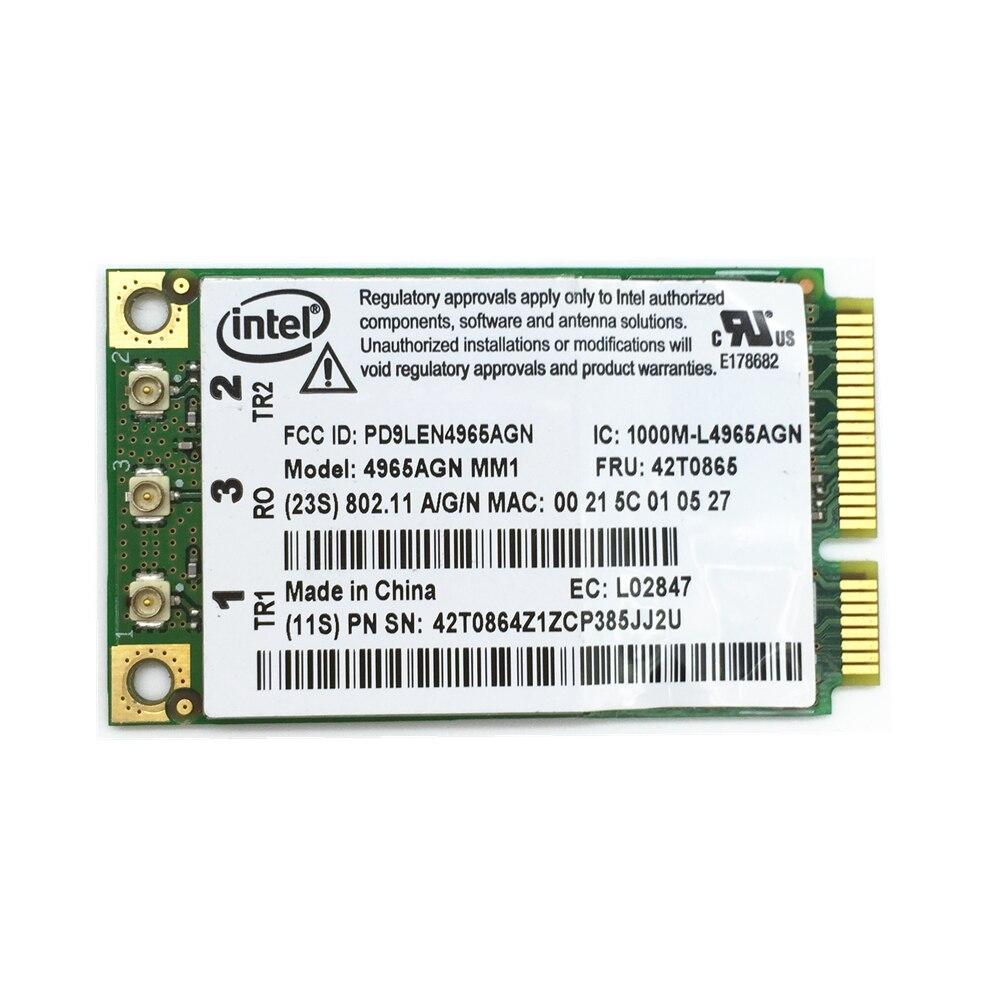 For 4965AGN Intel 4965 802.11n Mini PCI-E Wifi Wireless Card For T61 T61P R61 X61