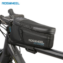 ROSWHEEL ATTACK Series Waterproof Bicycle Bike Bag Accessories Saddle Container Cycling Front Frame Packs 121370 Riding Pouch
