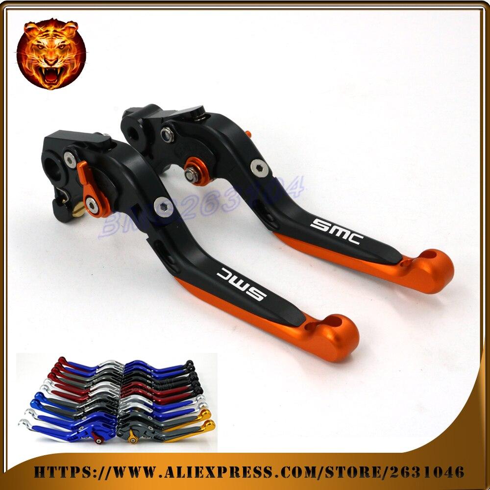Adjustable Folding Extendable Brake Clutch Lever For KTM 690 SMC SMCR 690SMC SMC R 14 15