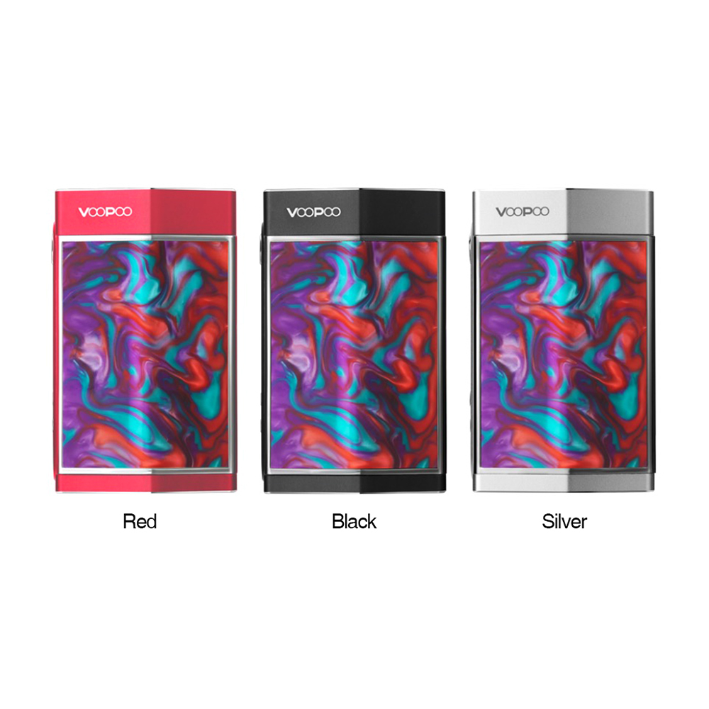 Original 180W VOOPOO TOO Resin TC Box MOD with Double Sidesilp Covers & GENE Chip Electronic Cigarette Vape Mod VS VOOPOO DRAG