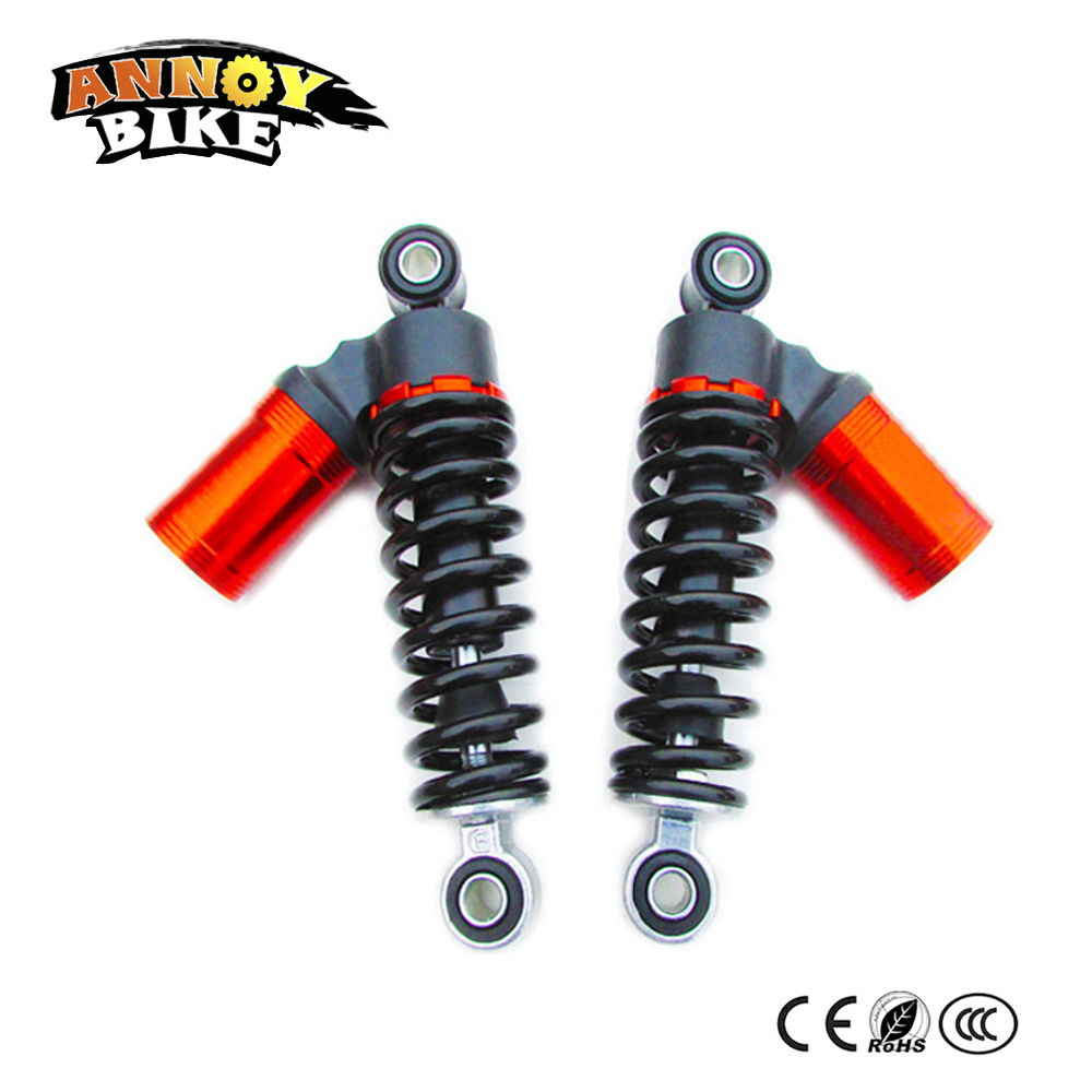 цена на Motorcycle Scooter Hydraulic Rear Shock Absorber 170mm 190mm 210mm Electric Bicycle Simple Section Hydraulic Shock Absorption