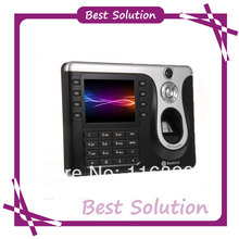 Newest ZDC1535CAM/ID TFT Fingerprint Time Attendance Time clock with Camera
