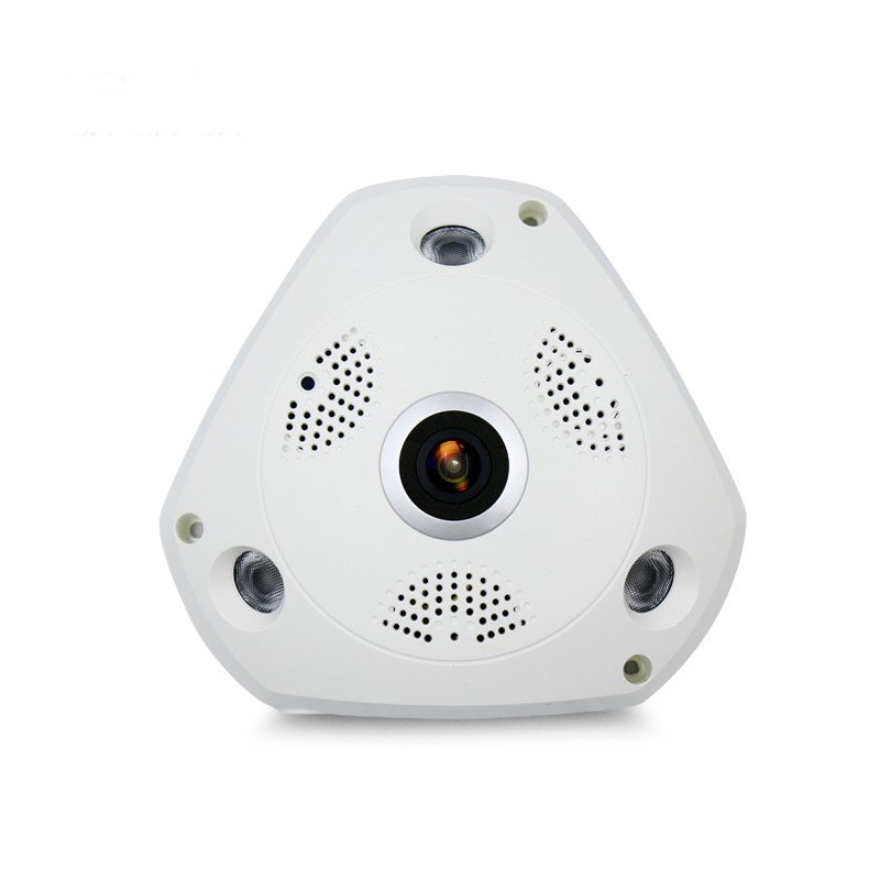 Wifi IP 広角 VR カメラワイヤレス 3MP HD スマート 360 度 Fishey パノラマネットワーク Cctv セキュリティホーム監視カム  グループ上の セキュリティ & プロテクション からの 監視カメラ の中 1